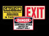ANSI & OSHA Safety Signs