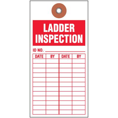 Maintenance & Inspection Tags