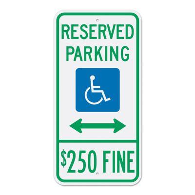 Handicap & ADA Parking Signs