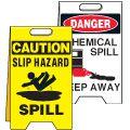 Spill Control Floor Stands