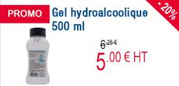 PROMO - Gel hydroalcoolique 500 ml