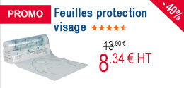 PROMO - Feuilles protection visage