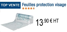TOP VENTE - Feuilles protection visage