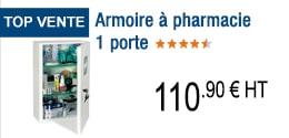 TOP VENTE - Armoire à pharmacie 1 porte