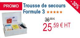 PROMO - Trousse de secours Formule 3