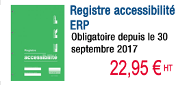 Registre Accessibilité obligatoire