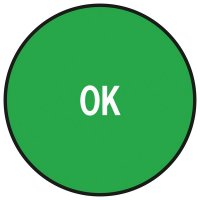 """Pastilles multi-usages gestion de stock """"Ok"""""""