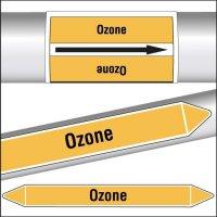 Marqueurs de tuyauterie CLP texte Ozone