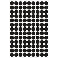 Pastilles rondes adhésives en vinyle