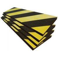 Protection en mousse conformable jaune et noir