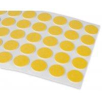 100 pastilles adhésives double face 18 mm