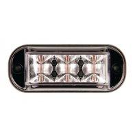 Feu de pénétration 3 LED à éclats 10/30 V