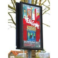 Panneaux d'affichage pour grands formats