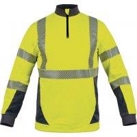 Sweat-shirt haute visibilité chaud et léger