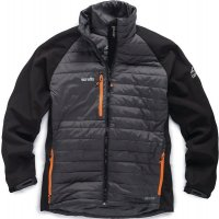 Veste thermo Softshell® extensible grise/noire
