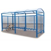 Abri vélos voûte 6 vélos et extension