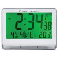 Horloge Radio-pilotée LCD