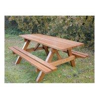Table Enfant- Jura Bois résineux Naturel ou Acajou 120