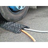 Protège câble élastomère 2 ou 3 canaux