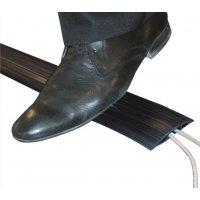 Protège-câble souple en élastomère noir