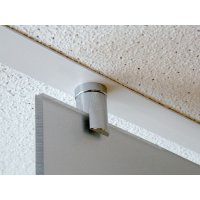 Fixation magnétique sans percage pour faux plafond