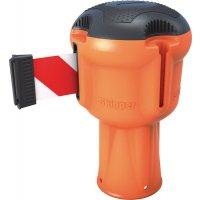 Enrouleur orange sangle 9m pour poteau Skipper™ ou cône