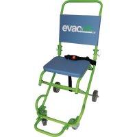 Chaise porteuse d'évacuation 4 roues