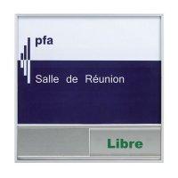 Plaque de porte Libre-Occupé