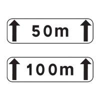 Panonceau complémentaire de signalisation M2 type A