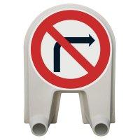Panneau Mistral Défense de tourner droite Classe 1 ou 2