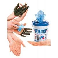 Lingettes imprégnées pour le nettoyage des mains