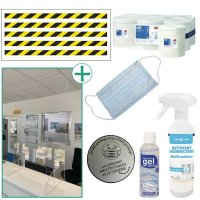 Kit anti-virus balisage et accueil du public