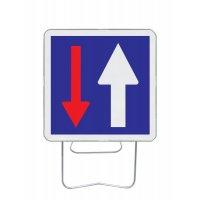 Panneau avec pied solidaire Priorité de circulation