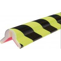 Amortisseurs mousse jaune fluorescent et noir