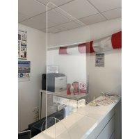 Protection de comptoirs et bureaux sans passe-document
