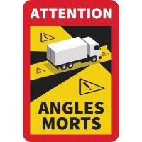 Panneau angles morts pour camions