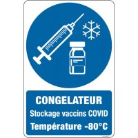 Panneaux Congélateur Stockage Vaccin Covid