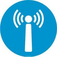 Autocollant vitrophanie Borne Wifi