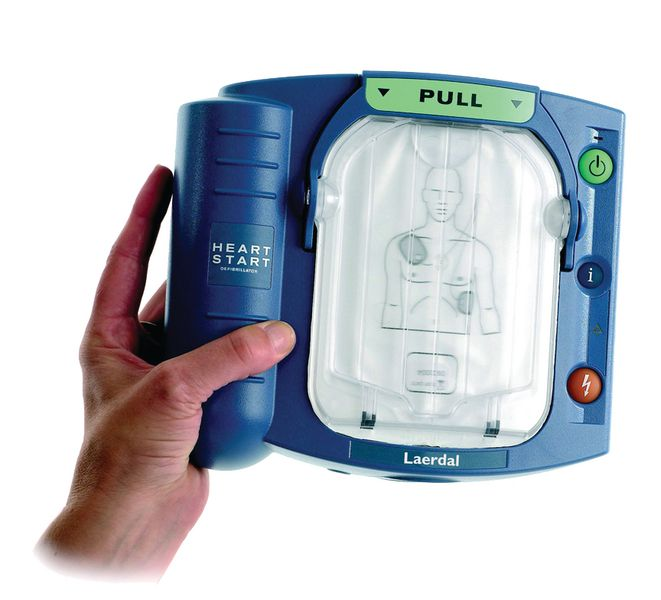Défibrillateur cardiaque Laerdal® automatisé ext. DAE