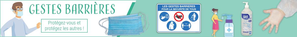 Protection contre les virus : masques, gel