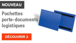NOUVEAU - Pochettes porte-documents logistiques