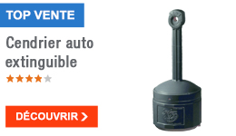 TOP VENTE - Cendrier auto extinguible