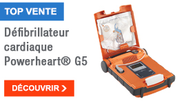 TOP VENTE - Défibrillateur cardiaque Powerheart® G5