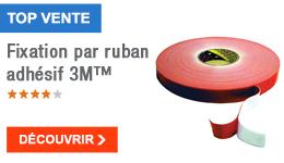 TOP VENTE - Fixation par ruban adhésif 3M™