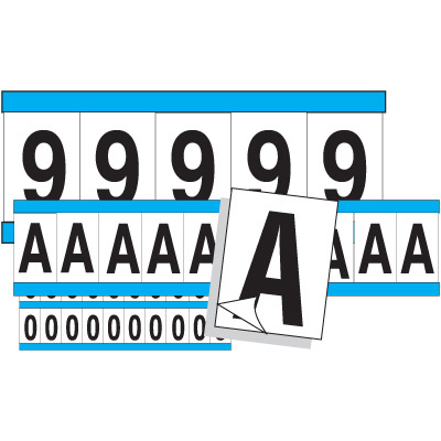 Outdoor Letters and Numbers