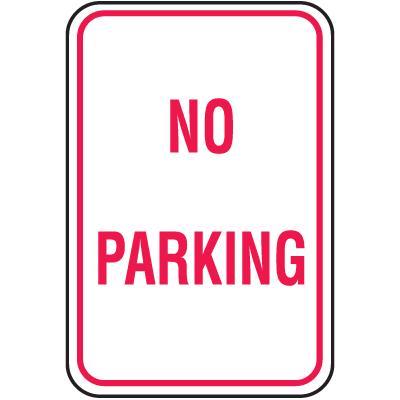 No Parking Signs - No Parking