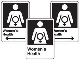 Health Care Facility Wayfinding Signs - Women's Health