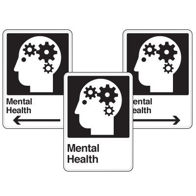 Health Care Facility Wayfinding Signs - Mental Health