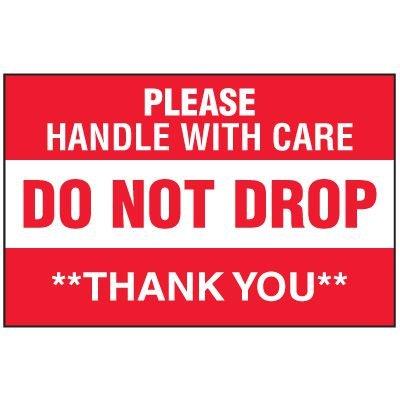 Fragile Labels - Do Not Drop