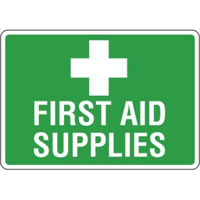 Eco-Friendly First Aid Signs - First Aid Supplies